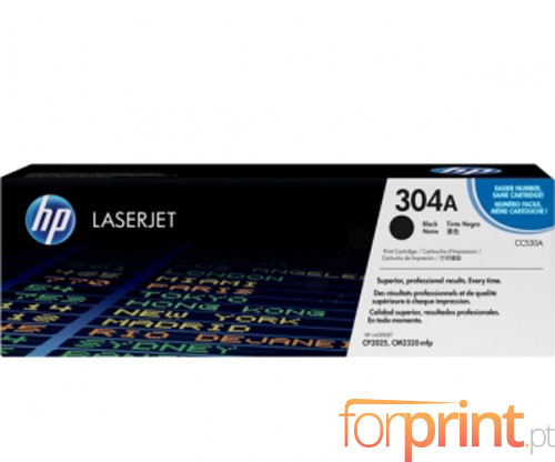 Original Toner HP 304A Black ~ 3.500 Pages