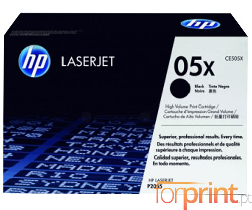Original Toner HP 05X Black ~ 6.500 Pages