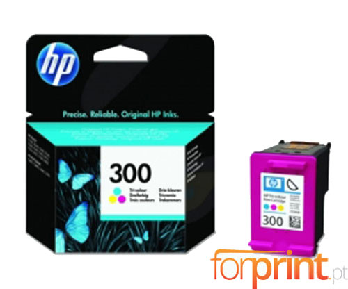 Original Ink Cartridge HP 300 Color 4ml ~ 165 Pages