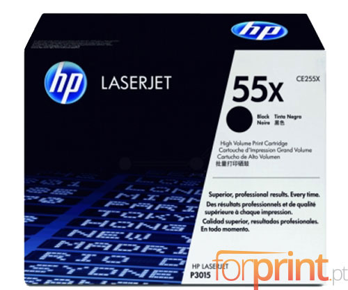 Original Toner HP 55X Black ~ 12.500 Pages
