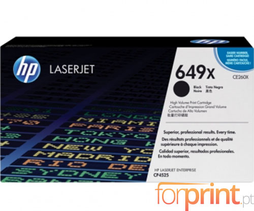Original Toner HP 649X Black ~ 17.000 Pages