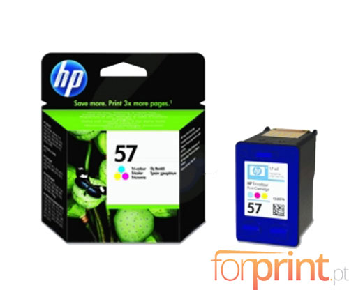 Original Ink Cartridge HP 57 Color 17ml ~ 500 Pages
