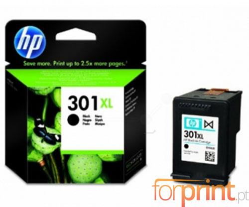 Original Ink Cartridge HP 301 XL Black 8ml ~ 480 Pages