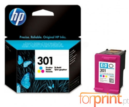 Original Ink Cartridge HP 301 Color 3ml ~ 165 Pages