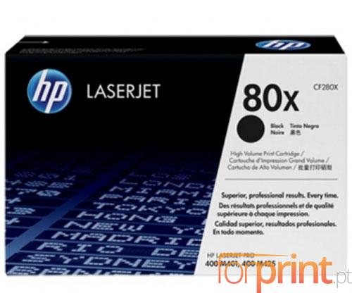 Original Toner HP 80X Black ~ 6.900 Pages