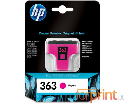 Original Ink Cartridge HP 363 Magenta 4ml ~ 400 Pages