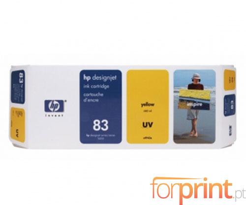 Original Ink Cartridge HP 83 UV Yellow 680ml