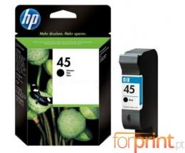 Original Ink Cartridge HP 45 Black 42ml ~ 930 Pages
