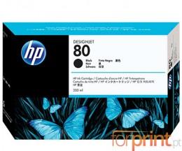 Original Ink Cartridge HP 80 Black 350ml ~ 4.400 Pages