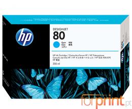 Original Ink Cartridge HP 80 Cyan 350ml ~ 4.400 Pages