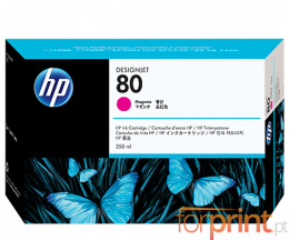 Original Ink Cartridge HP 80 Magenta 350ml ~ 4.400 Pages