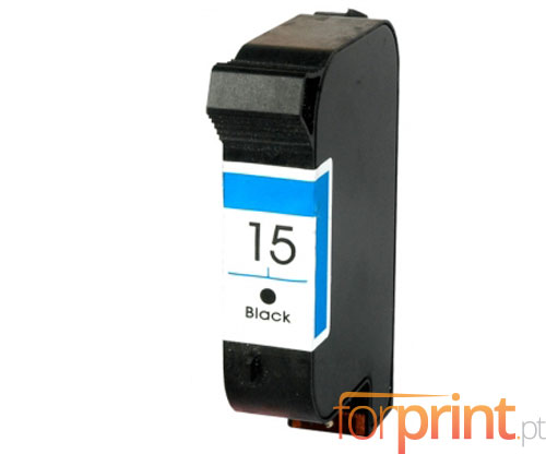 Compatible Ink Cartridge HP 15 Black 40ml