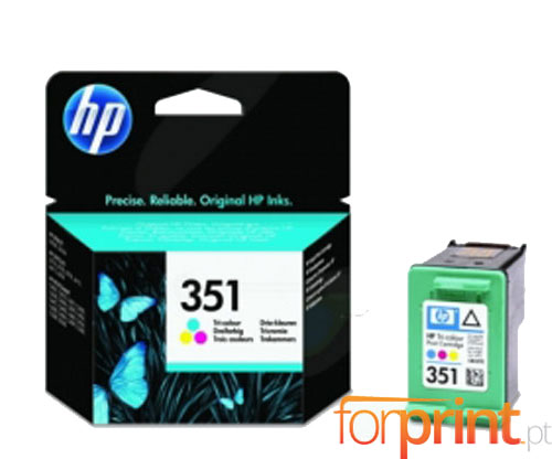 Original Ink Cartridge HP 351 Color 3.5ml ~ 170 Pages