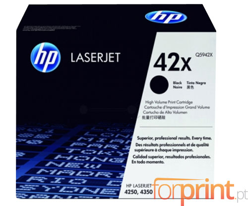 Original Toner HP 42X Black ~ 20.000 Pages