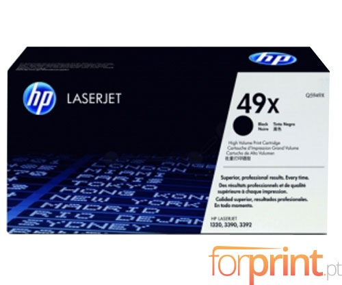 Original Toner HP 49X Black ~ 6.000 Pages