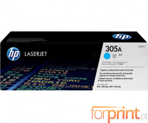 Original Toner HP 305A Cyan ~ 2.600 Pages