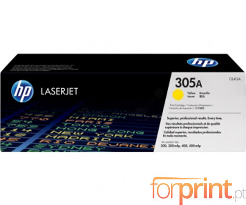 Original Toner HP 305A Yellow ~ 2.600 Pages