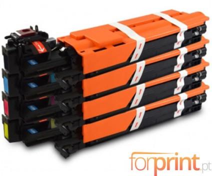 4 Compatible Drums, Konica Minolta A0WG0XH Black + Color ~ 30.000 Pages