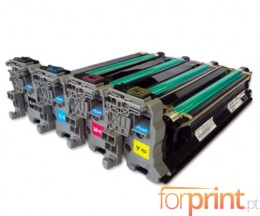 4 Compatible Drums, Konica Minolta A0310XH Black + Color ~ 30.000 Pages