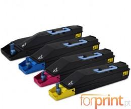 4 Compatible Toners, Kyocera TK 865 Black + Color  ~ 20.000 / 12.000 Pages