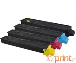 4 Compatible Toners, Kyocera TK 895 Black + Color ~ 12.000 / 6.000 Pages