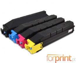 4 Compatible Toners, Kyocera TK 8305 Black + Color ~ 25.000 / 15.000 Pages