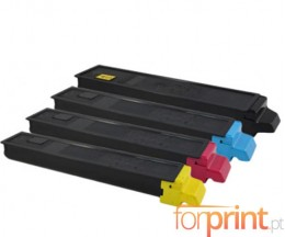 4 Compatible Toners, Kyocera TK 8315 Black + Color ~ 12.000 / 6.000 Pages