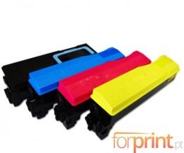 4 Compatible Toners Kyocera TK 570 Black + Color ~ 16.000 / 12.000 Pages
