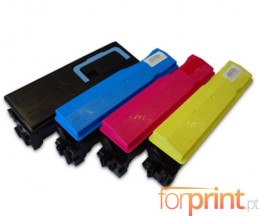 4 Compatible Toners, Kyocera TK 560 Black + Color ~ 12.000 / 10.000 Pages