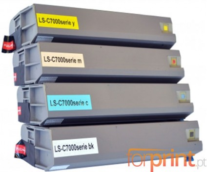 4 Compatible Toners, OKI 413042XX ~ 10.000 Pages