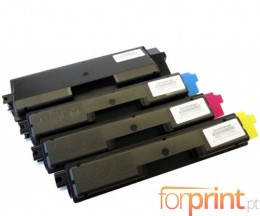 4 Compatible Toners, Olivetti P2021 Black + Color ~ 3.500 / 2.800 Pages