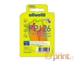 Original Ink Cartridge Olivetti FPJ-26 Color ~ 150 Pages