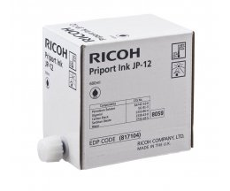 5 Original Ink Cartridges, Ricoh 817104 Black 600ml