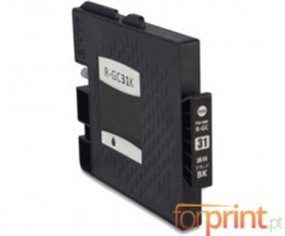 Compatible Ink Cartridge Ricoh GC-31 / GC-31 XXL Black 78ml