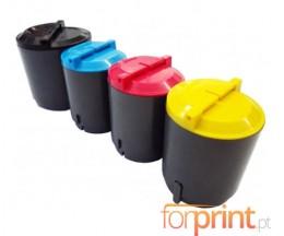 4 Compatible Toners, Samsung 300A Black + Color 2.000 / 1.000 Pages