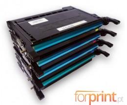 4 Compatible Toners, Samsung 600A Black + Color ~ 4.000 Pages