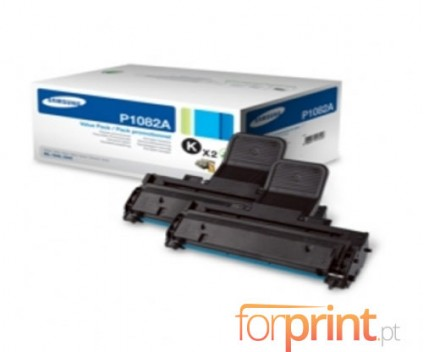 2 Original Toners, Samsung P1082A Black ~ 1.500 Pages