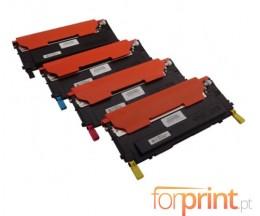 4 Compatible Toners, Samsung 4092S Black + Color ~ 1.500 / 1.000 Pages