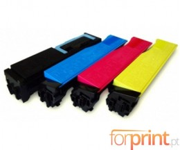 4 Compatible Toners, Utax 3621 Black + Color ~ 7.000 / 5.000 Pages