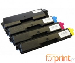 4 Compatible Toners, Utax 3721 Black + Color ~ 3.500 / 2.800 Pages
