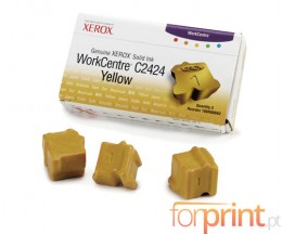 3 Original ColorSticks, Xerox 108R00662 Yellow ~ 3.400 Pages