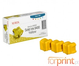 3 Original Ink Cartridges, Xerox 108R00607 Yellow ~ 3.400 Pages